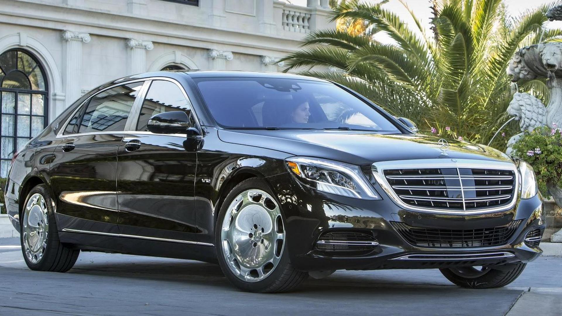 2016 Mercedes-Maybach S600 detailed in new photos