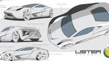 Revived British marque Lister teases V12 7.8-liter £2 million hypercar