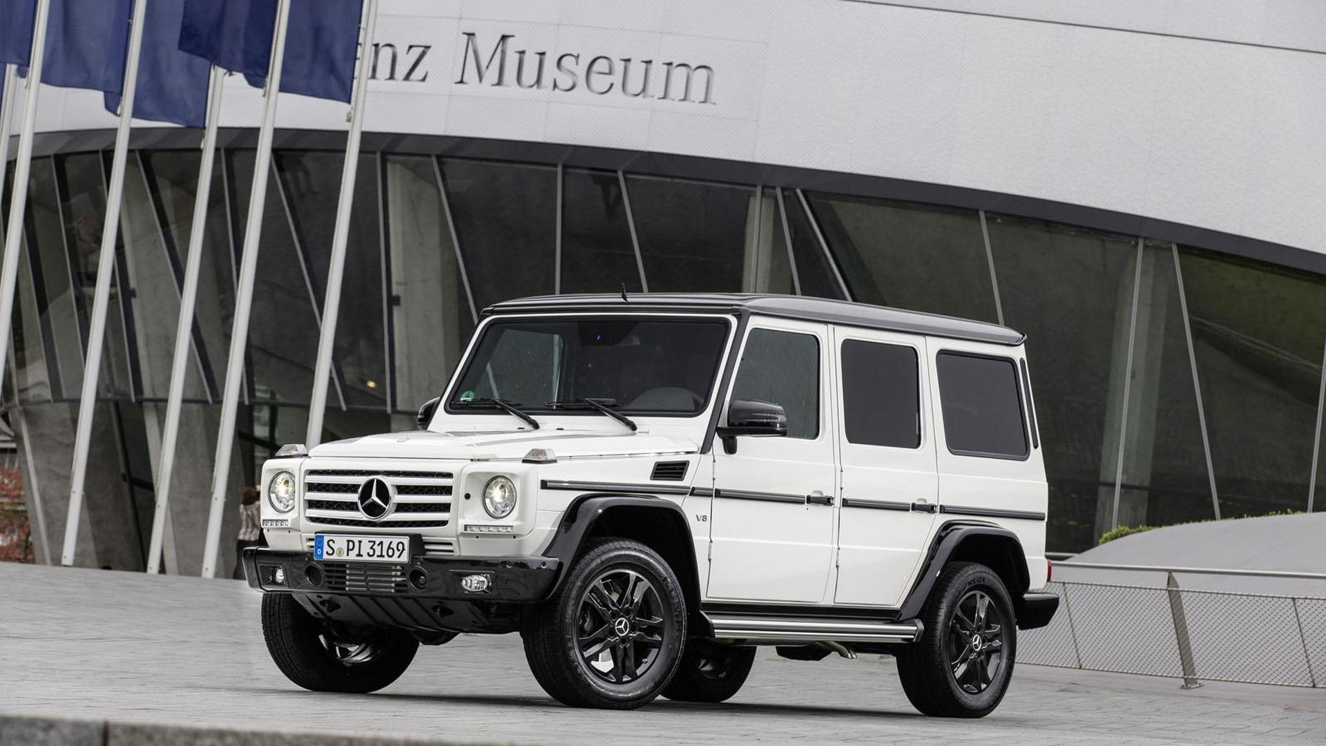 Mercedes G-Class Edition 35 gets detailed