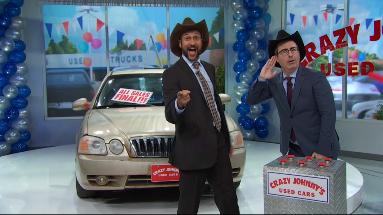 Subprime auto loan video by John Oliver is informative and scary