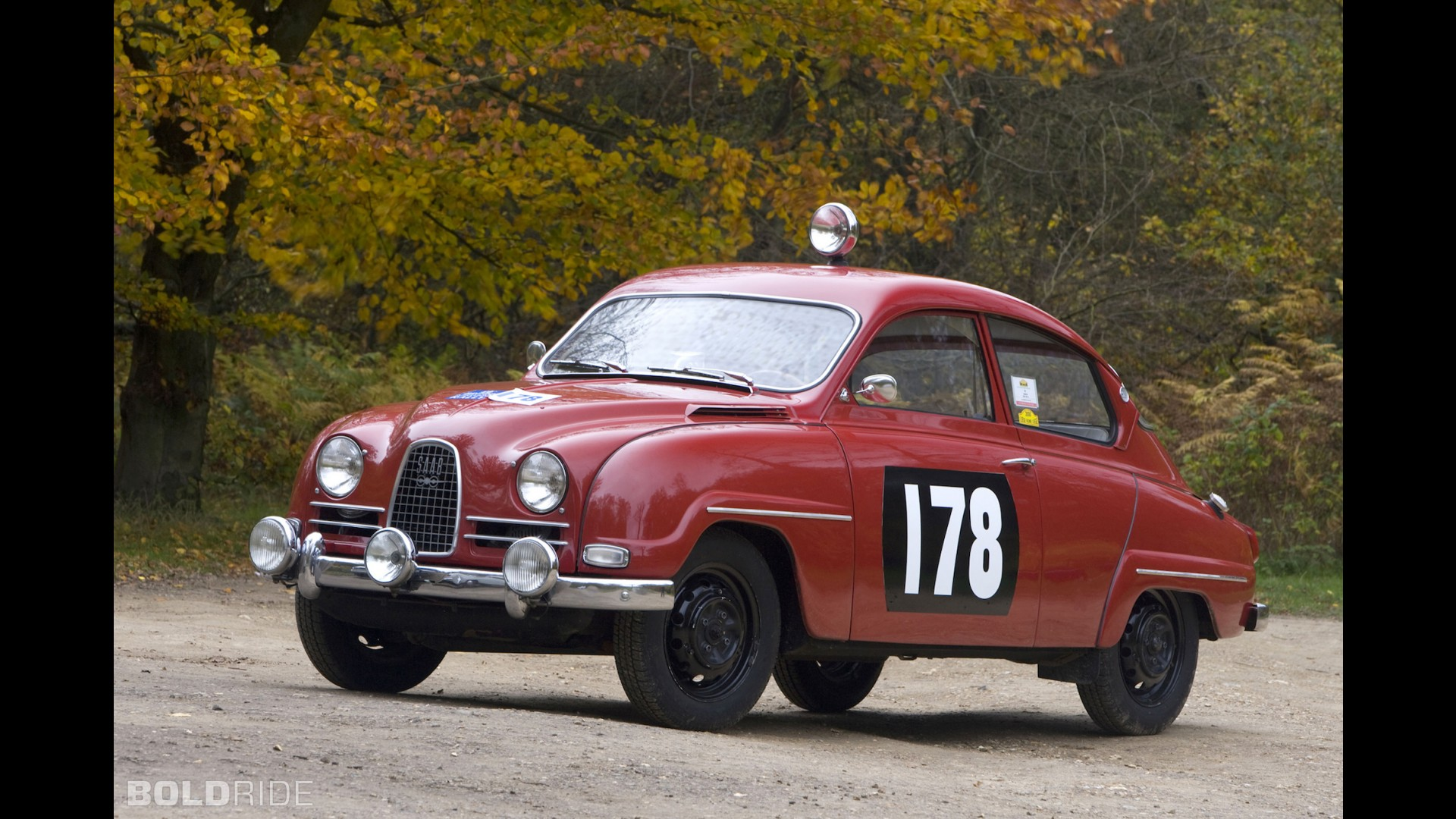 Saab 96 Rally Car
