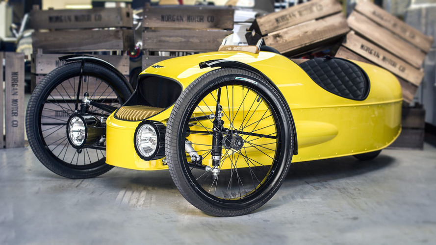 Forget Power Wheels, we want Morgan's kid-sized Three-Wheeler