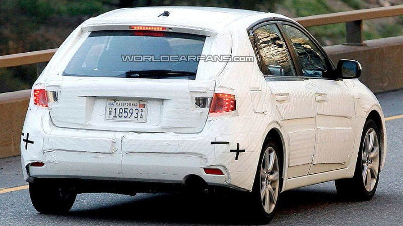 SPY PHOTOS: Subaru Impreza Hatchback