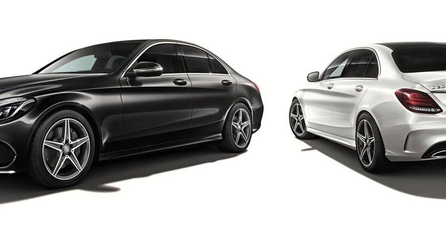 Mercedes C 200 Sports Edition unveiled for Japan