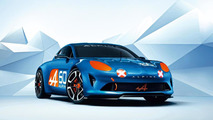 Renault Alpine Celebration concept breaks cover at Le Mans