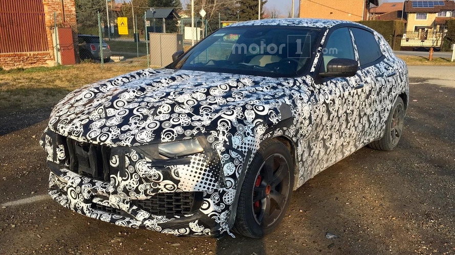 2017 Maserati Levante peels off some disguise