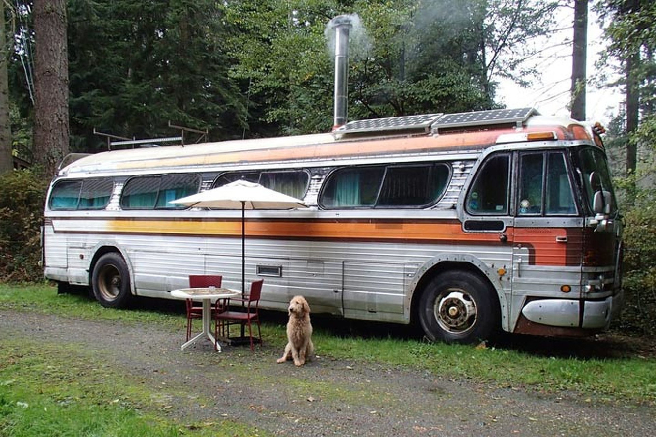 Sell the House, Live in This Vintage GMC Bus