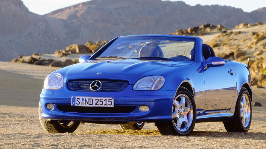 Mercedes SLK celebrates its 20th anniversary