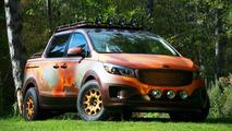Kia's Photo Safari Sedona is one wild minivan