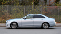 2016 Mercedes-Benz E-Class W213 spied up close with very little makeup