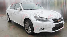 2013 Lexus GS spy photo - 17.8.2011