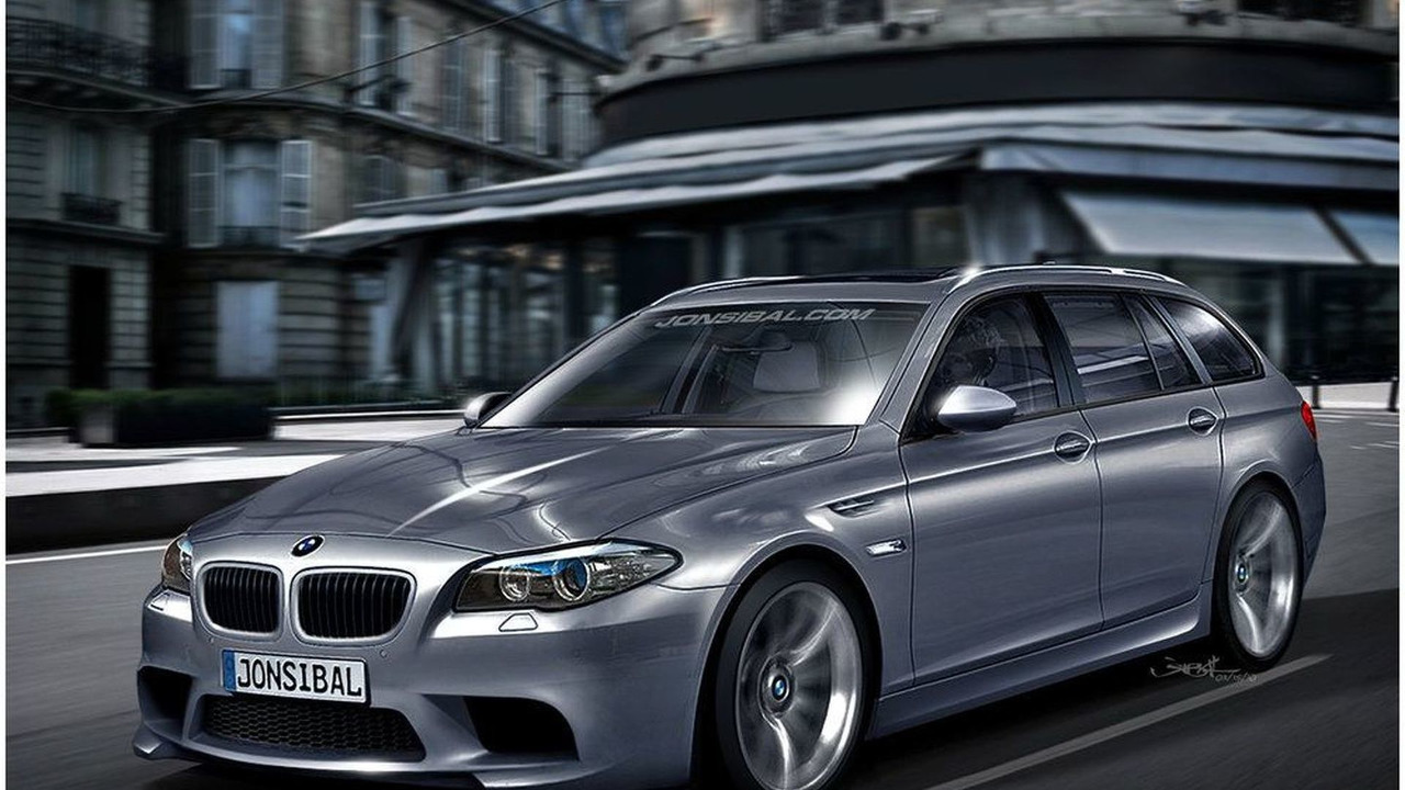 BMW F11 M5 Touring Artists Rendering