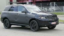 2012 Mercedes-Benz ML-Class first prototype spy photos