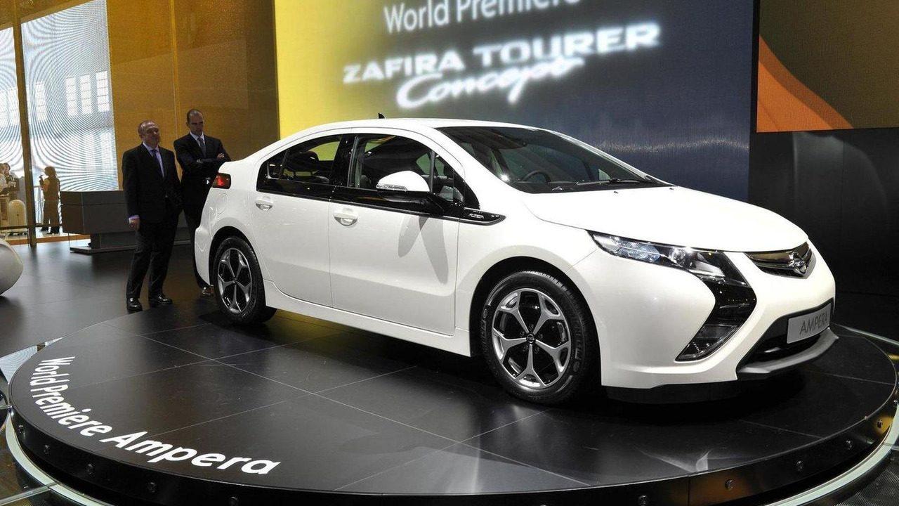 Opel Ampera production version live in Geneva - 01.03.2011