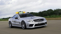 Mercedes SL 63 AMG and C 63 AMG are official 2009 Formula 1 safety and medical cars once again