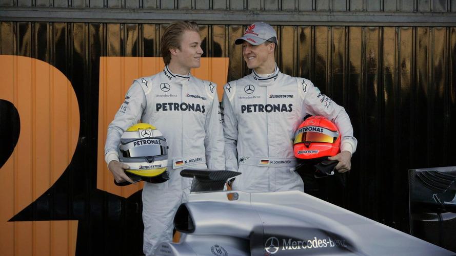 Schu's teammate Rosberg has no plans to flee