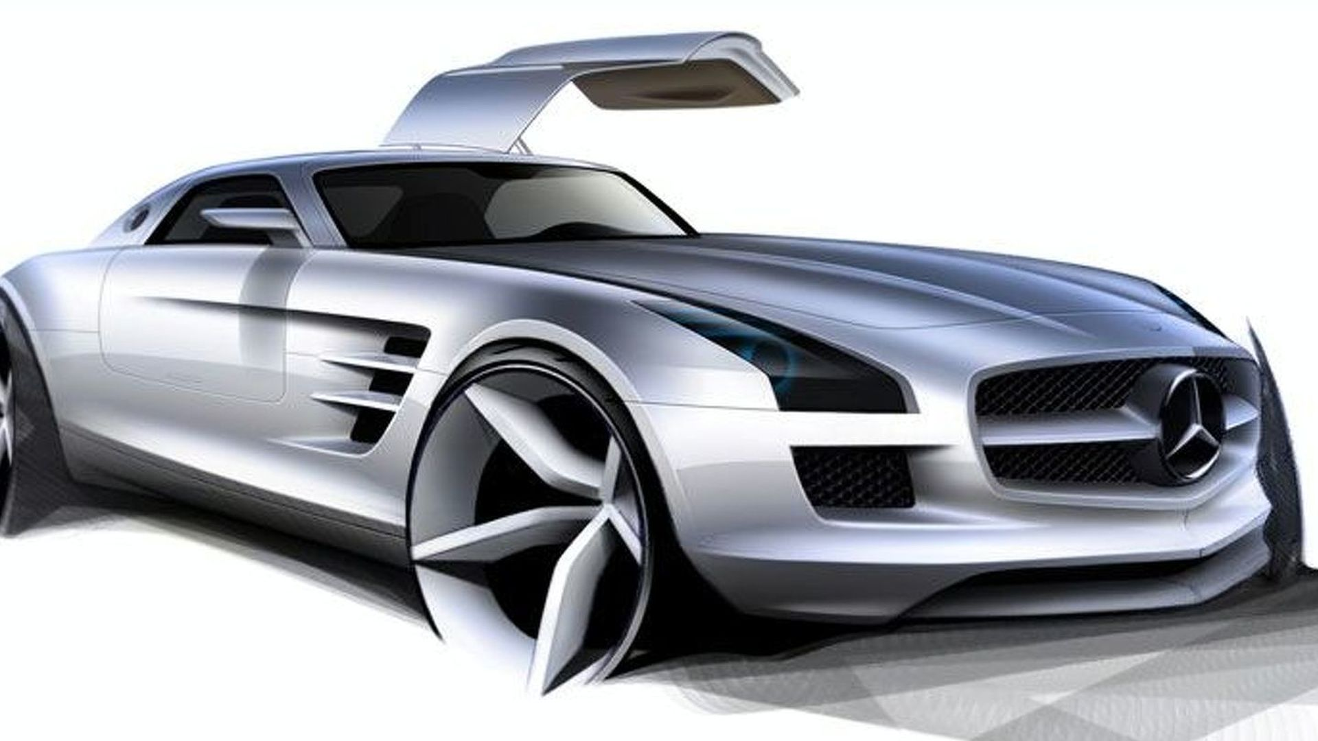 Mercedes SLS AMG Gullwing electric vehicle planned for 2015