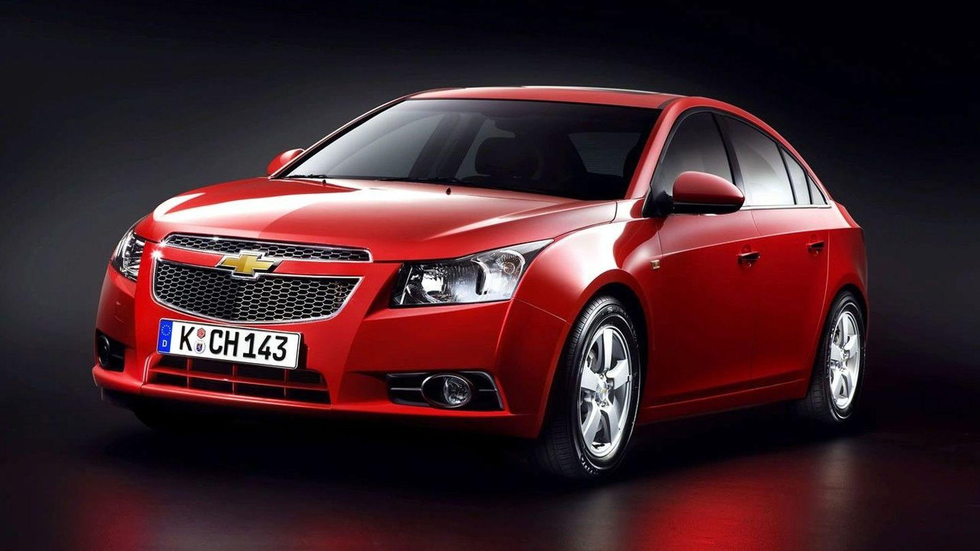 Chevrolet Aggressively Prices Cruze for UK market