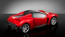 Ferrari 368 Street Racer posterior