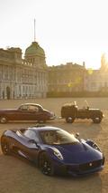 Jaguar C-X75 prototype to star in the Coronation Festival
