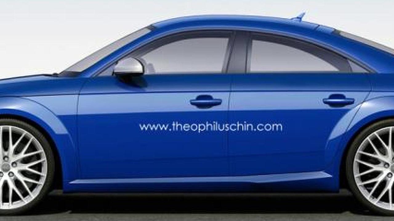 Audi TT Sportback rendering / Theophilus Chin