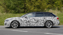 2015 Audi A6 Avant facelift spy photo