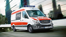 Mercedes Sprinter concept for RETTmobil 2014