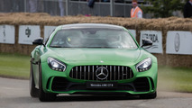 Watch the Mercedes-AMG GT R in action at Goodwood