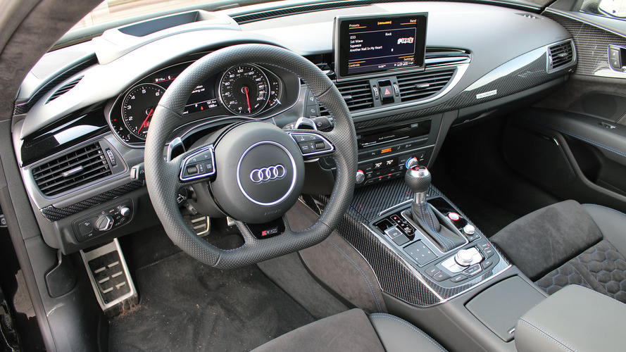 Audi rs7 interior photos 14