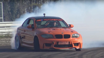 VIDÉO - Une BMW 1M avec un moteur V10 !