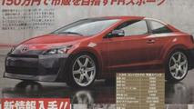 Toyota AE86 RWD Corolla Coupe?