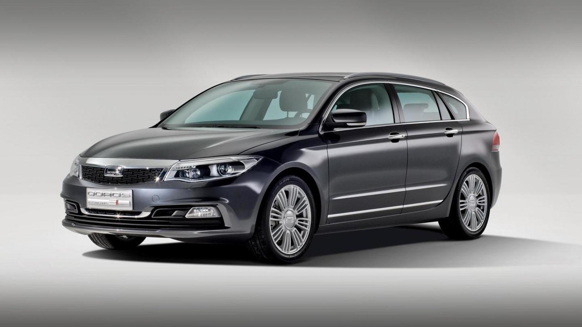Qoros 3 Sedan, Cross Hybrid Concept and Estate Concept set for Geneva debut