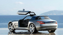 Mercedes-Benz SLC speculative artist rendering 2010