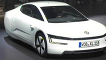 Volkswagen XL1 production version at 2013 Geneva Motor Show