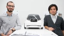 Students Victor Diemer and Kentaro Tamamushi from Scuola Politecnica di Design 26.11.2012