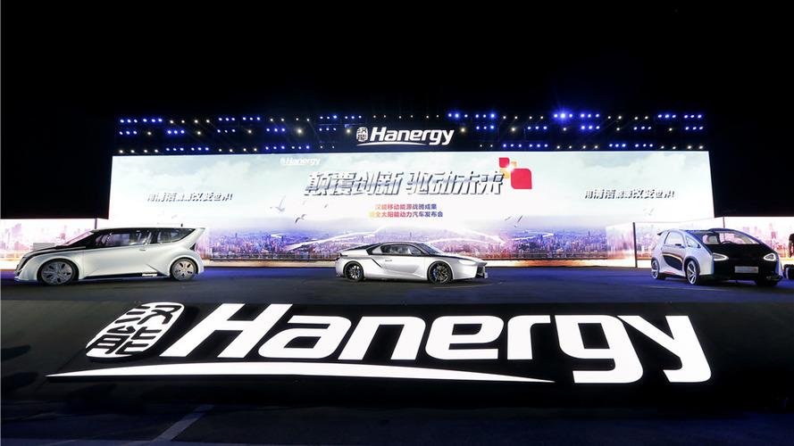 Hanergy: solar cars need 5 hours of sun for 50 miles of range