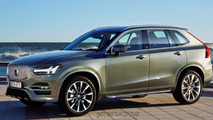 Next-gen Volvo XC60 rendered as baby XC90
