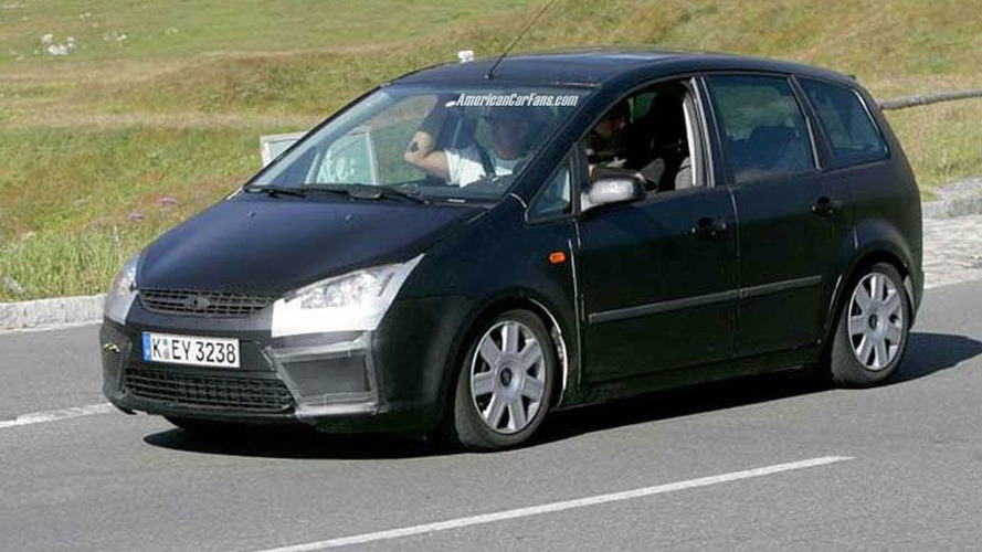 Ford Focus C-Max Facelift Spy Photos