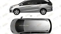 Honda Mobilio production version