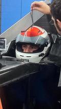 Sutil has seat fitting in 2014 Sauber