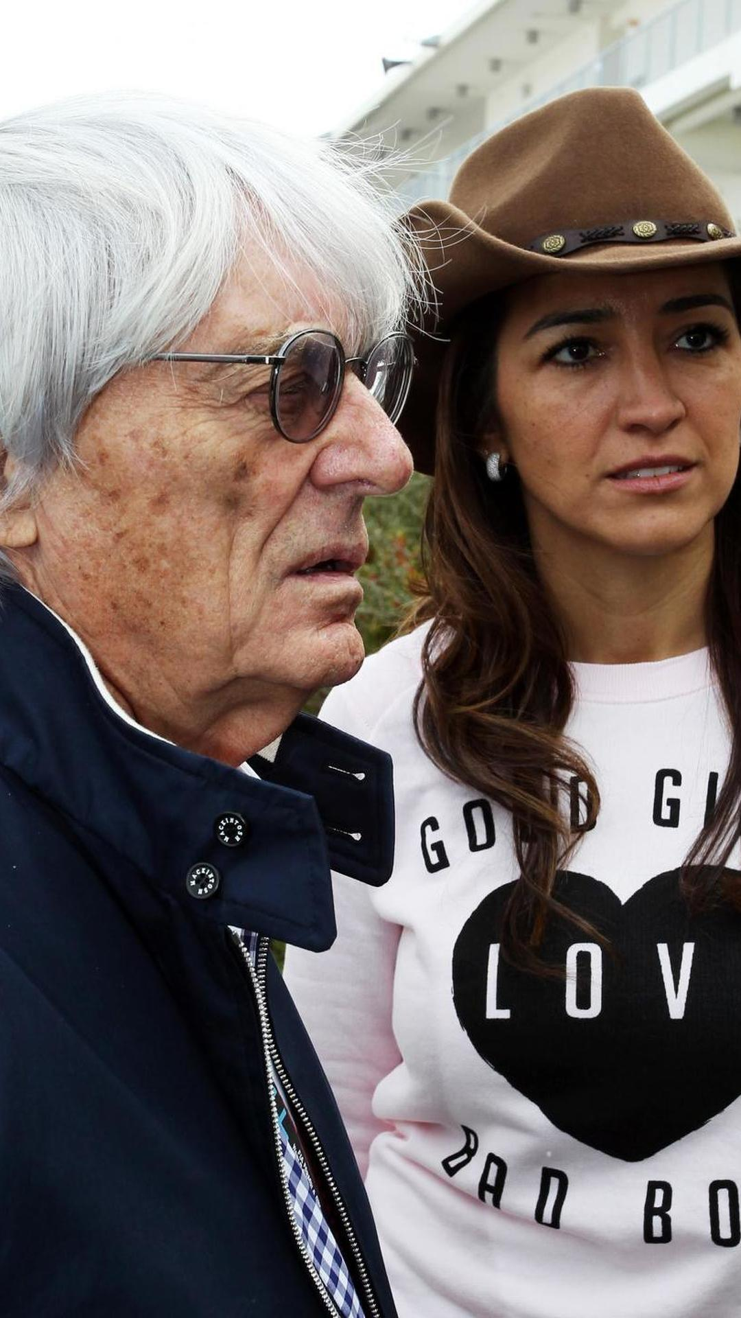 Wife Fabiana 'wants a baby' - Ecclestone
