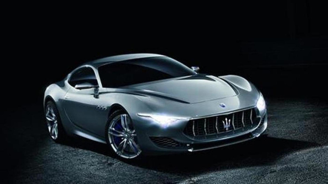 Maserati Alfieri concept leaked photo