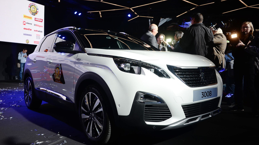 Peugeot 3008 is 2017 European Car of the Year