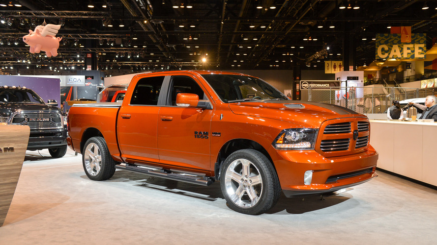 Ram's colorful 1500 Copper Sport highlights stylish Chicago debuts