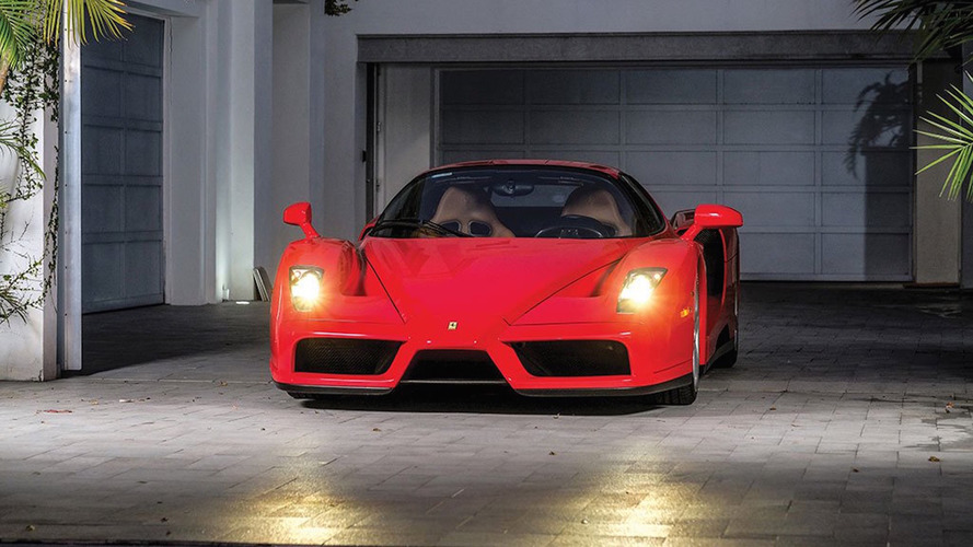 Buy Tommy Hilfiger's sub-5,000 km Ferrari Enzo and actually drive it