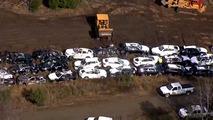 VIDÉO - 120 BMW détruites dans un accident de train