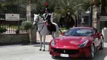 Ferrari takes the prancing horse motto literally to celebrate Queen Elizabeth II [video]