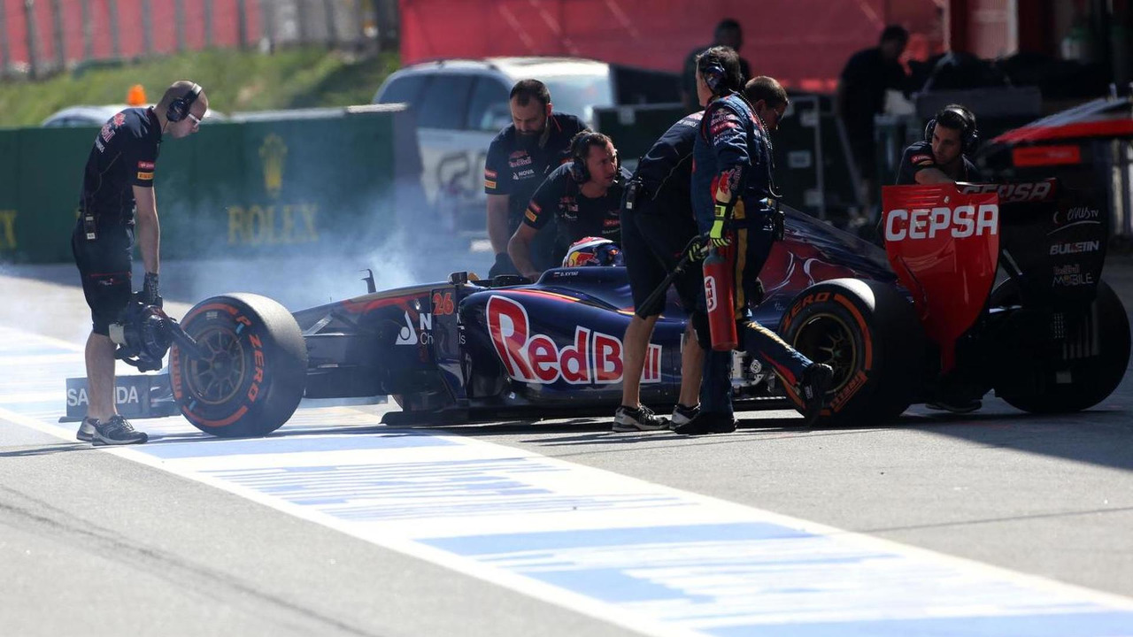 Daniil Kvyat (RUS), Scuderia Toro Rosso, Formula One Testing, Barcelona, Spain / XPB