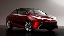 Toyota Dear Qin sedan concept 23.04.2012