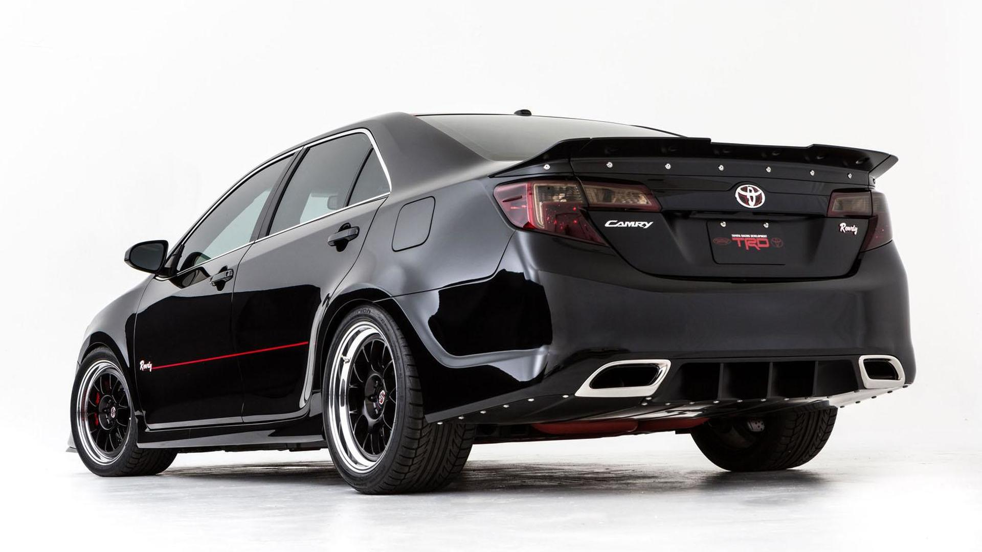 Toyota Camry gets the NASCAR treatment for SEMA